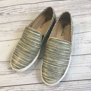 SPLENDID Seaside Striped Slip On Sneakers